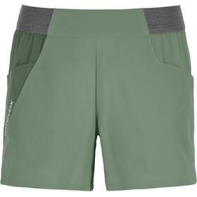 Ortovox Piz Selva Light Shorts Dame green isar